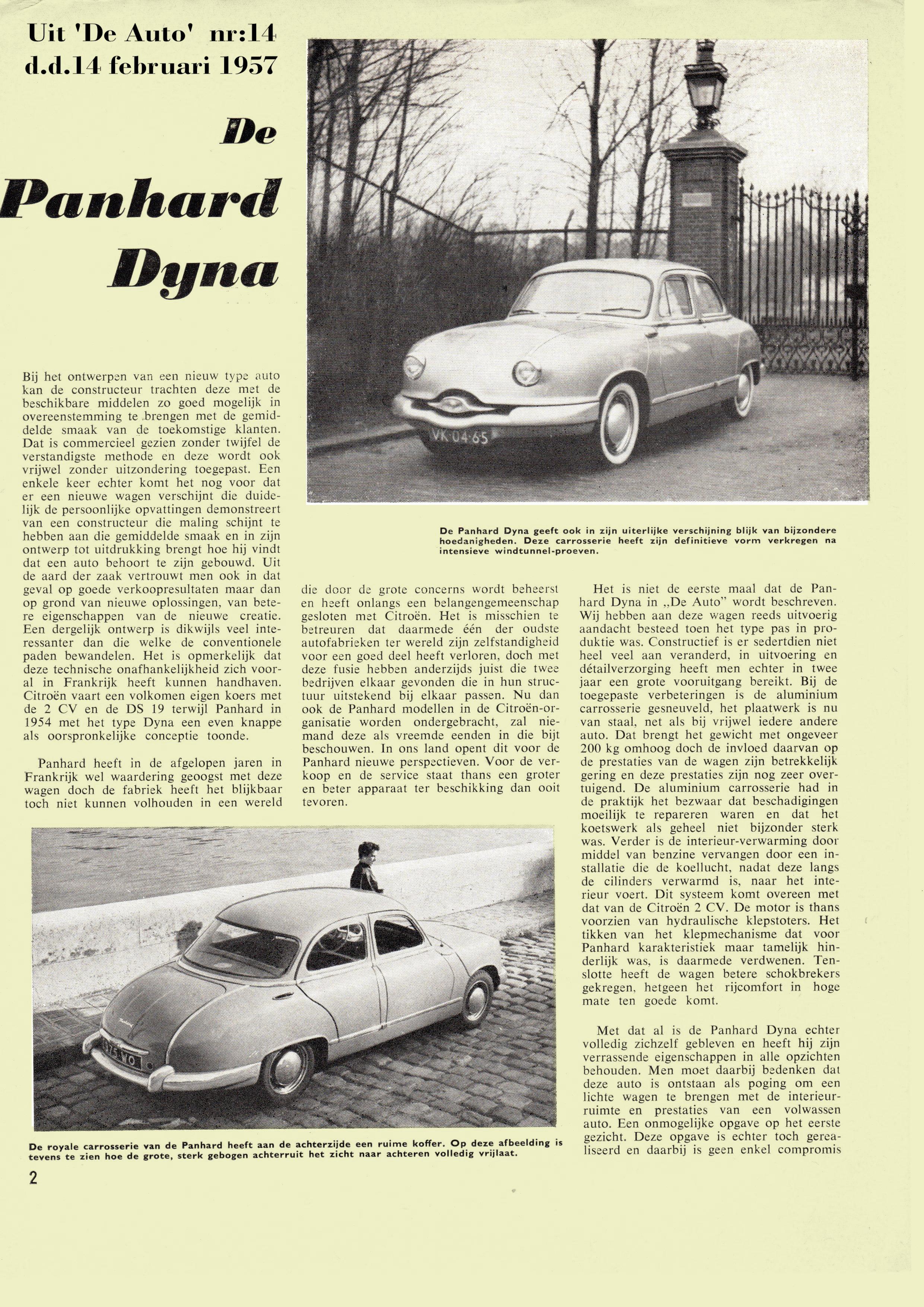 Roadtest Dyna Z 1957
